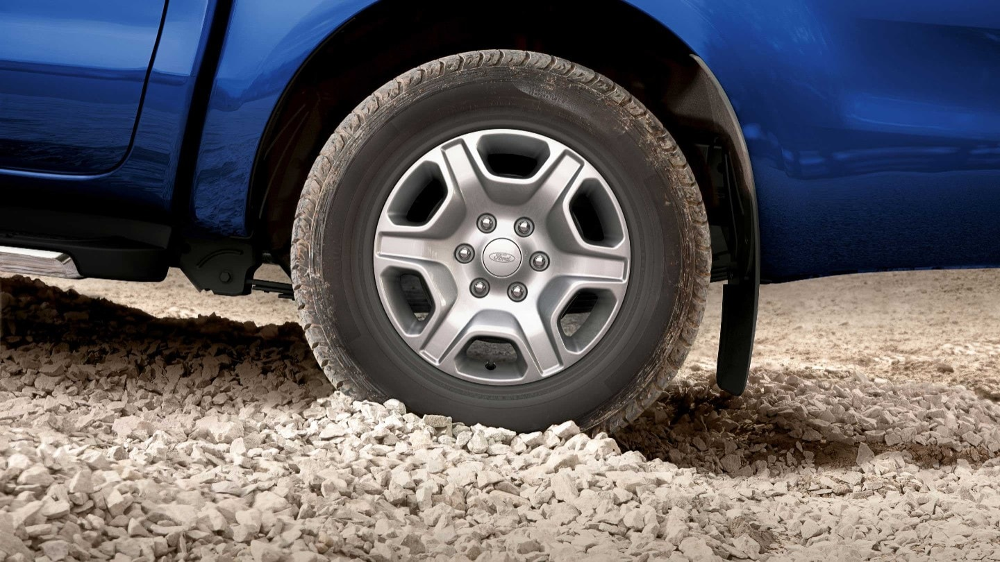 Ford Ranger wheel close up