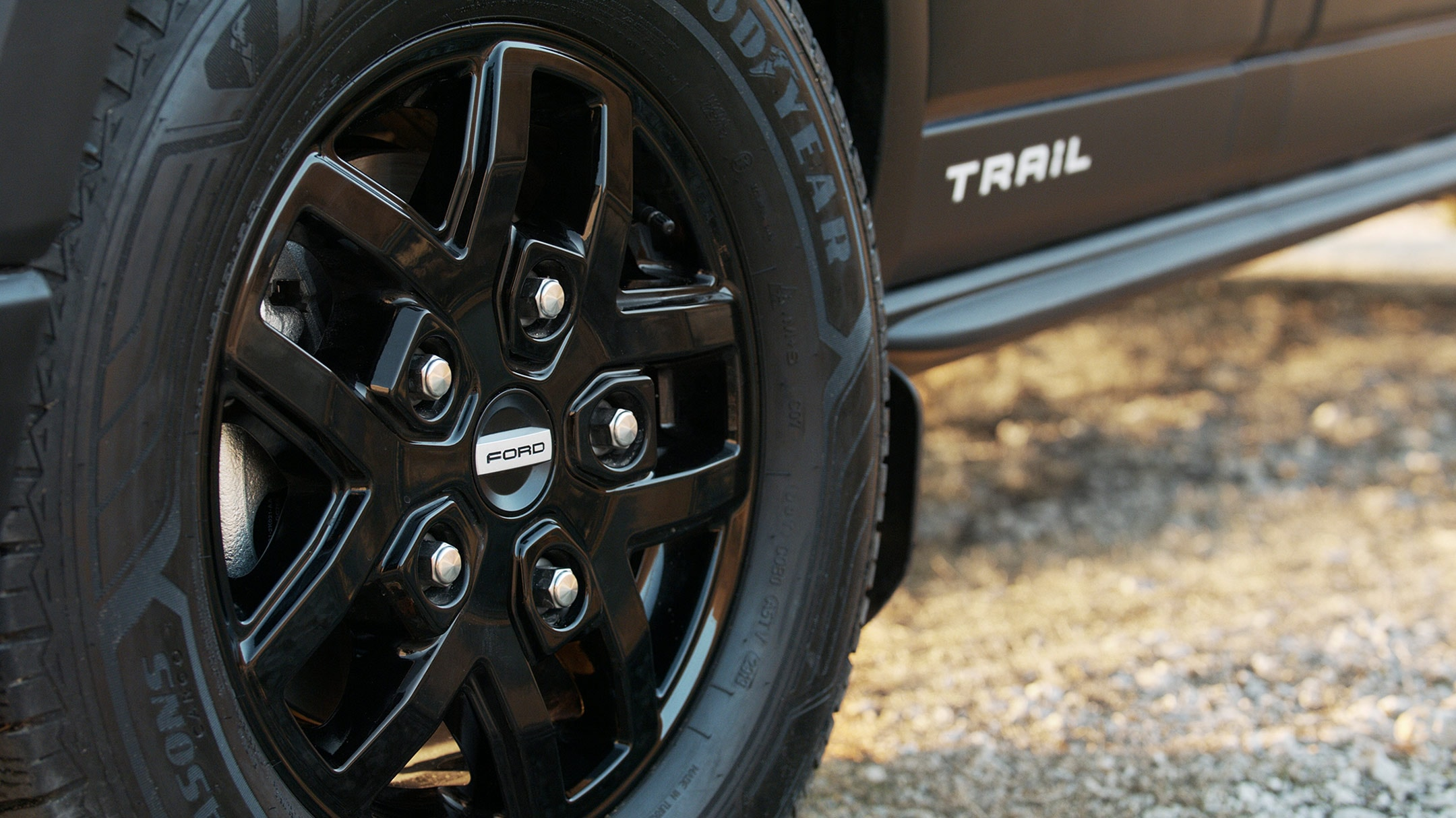 New Ford Transit Van Trail close up of alloy wheel