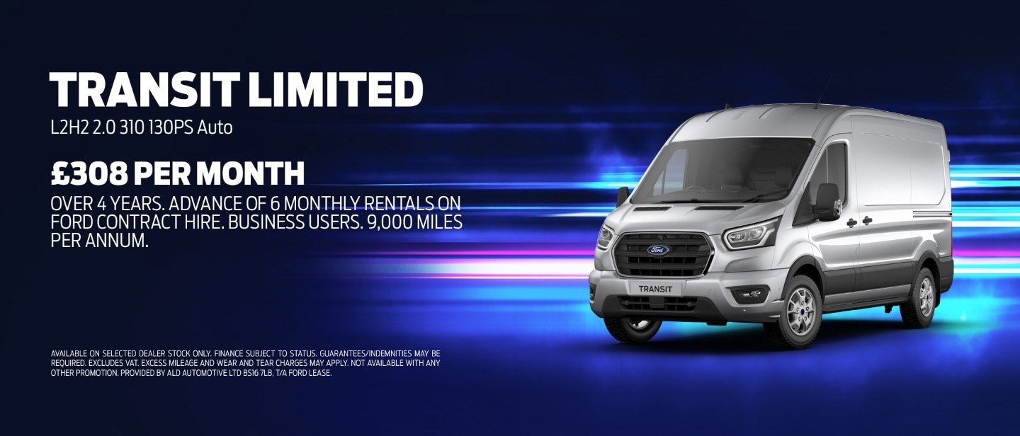 Ford Transit Van promotion
